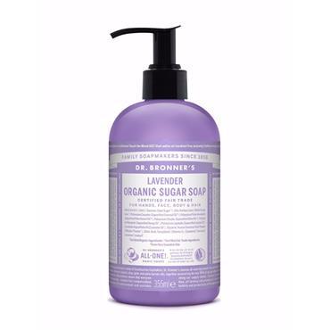 Dr Bronner's Sugar Lavender Organic Pump Soap 355ml