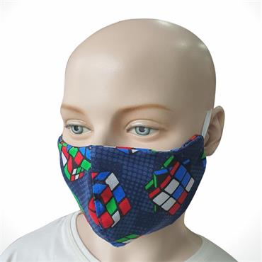 Children's Reusable Face Mask 100% Cotton Rubex