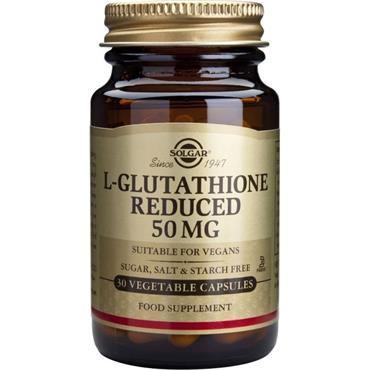 Solgar L-Gluthathione Reduced 50mg 30s