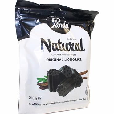 Panda Natural Original Liquorice 240g
