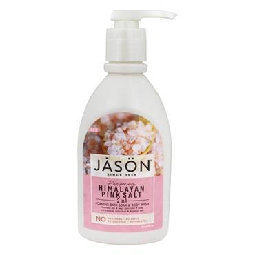 Jason Himalayan Pink Salt 2in1 Foaming Bath Soak & Body Wash 887ml