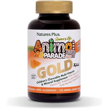 Nature's Plus Animal Parade Source of Life Gold Children's Multivitamin Orange 120s