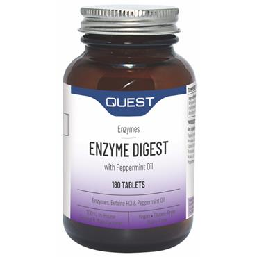 Quest Enzyme Digest With Betaine HCL & Peppermint Oil