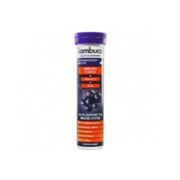 Sambucol Immuno Forte Black Elderberry Effervescent Tablets With Vitamin C & Zinc