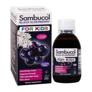 Sambucol For Kids: Black Elderberry Liquid With Vitamin C 230ml