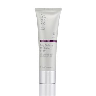 Trilogy Age Proof Daily Defence Moisturiser SPF15 (50ml)