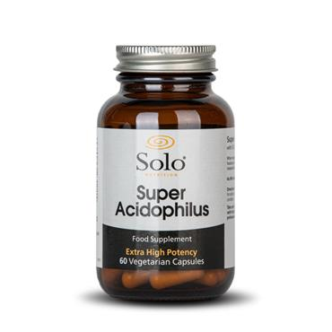 Solo Nutrition Super Acidophilus 60s  **