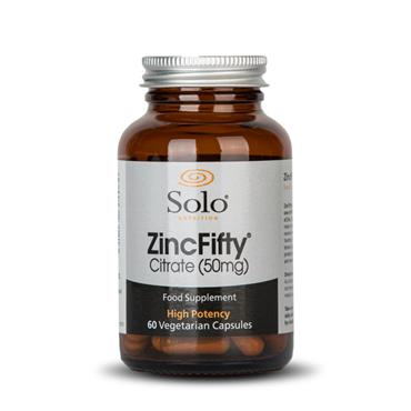 Solo Nutrition ZincFifty 60s  **
