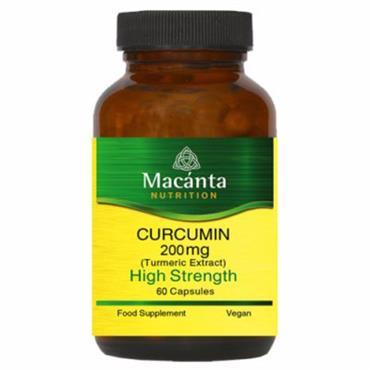 Macanta Nutrition Curcumin 200mg 60s