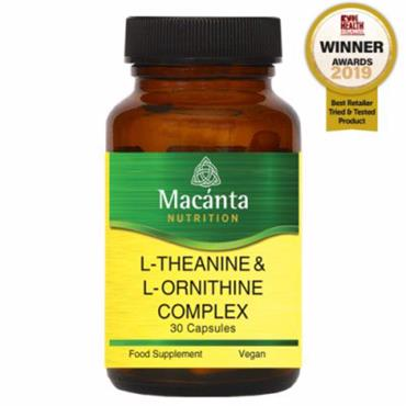 Macanta Nutrition L-Theanine & L-Ornithine Complex 30s