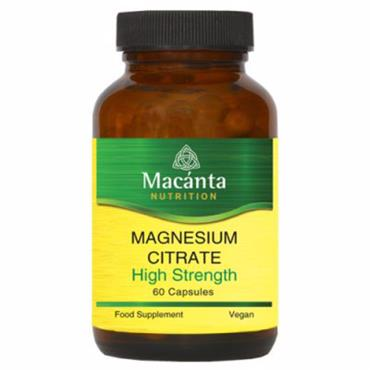 Macanta Nutrition Magnesium Citrate 200mg 60s