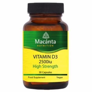 Macanta Nutrition Vitamin D3 2500 30s