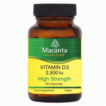 Macanta Nutrition Vitamin D3 2500 90s