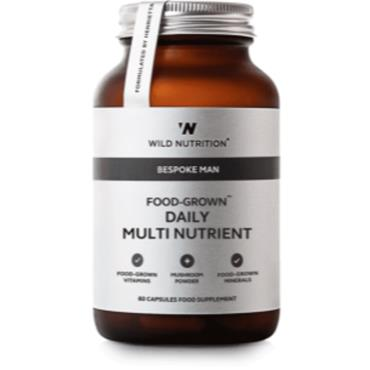 Wild Nutrition Food-Grown Daily Multi Nutrient Man