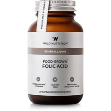 Wild Nutrition Food-Grown Folic Acid