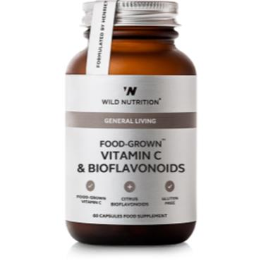 Wild Nutrition Food-Grown Vitamin C & Bioflavonoid 60s