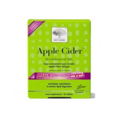 New Nordic Apple Cider Mega Strength 1000mg 30s