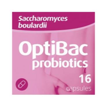 OptiBac Probiotics Saccharomyces boulardii 16s