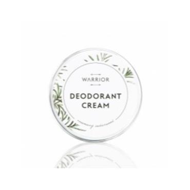 Warrior Natural Cream Deodorant Plastic free - Rosemary and Cedarwood 70g