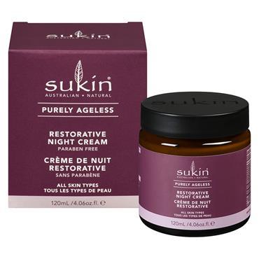Sukin Purely Ageless Restorative Night Cream 120ml