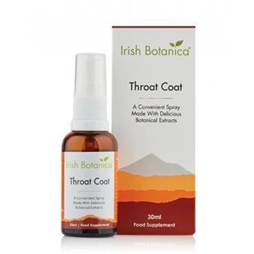 Irish Botanica Throat Coat Spray 30Ml