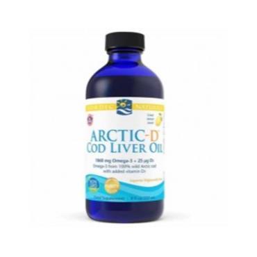 Nordic Naturals  Arctic-D Cod Liver Oil 237 ml