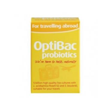 Optibac For Travelling Abroad 20s