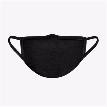 Labrex 100% Cotton Reusable Mask - Black Profiled R/L