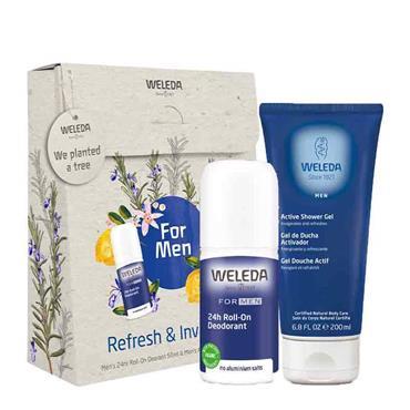 Weleda Refresh & Invigorate Gift Set For Men