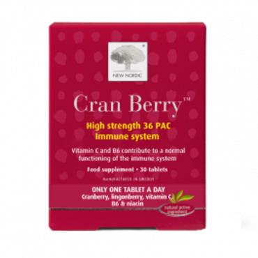 New Nordic Cran Berry 30 tablets
