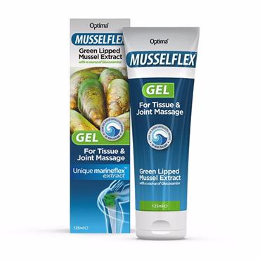 Optima MusselFlex Gel with Glucosamine 125ml
