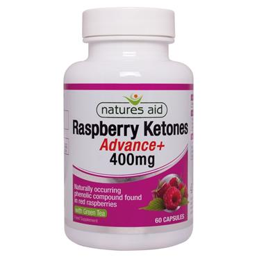 Natures Aid Raspberry Ketones Advance+ 400g 60s