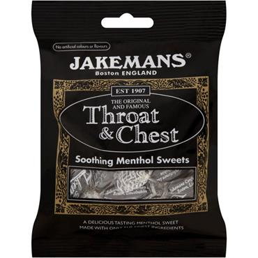 Jakemans Throat & Chest Lozenges 100g