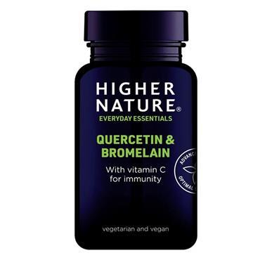 Higher Nature Quercetin & Bromelain 60 tabs