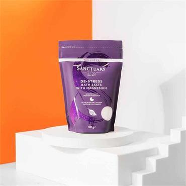 Sanctuary Wellness De-Stress Bath Salts With Magnesium