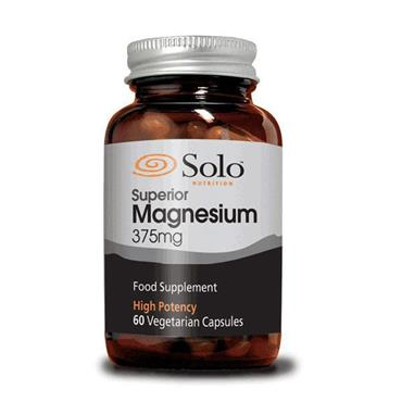 Solo Nutrition Superior Magnesium 375mg 60s