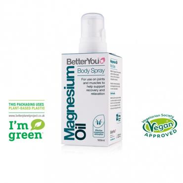BetterYou Magnesium Oil Body Spray Original 100ml