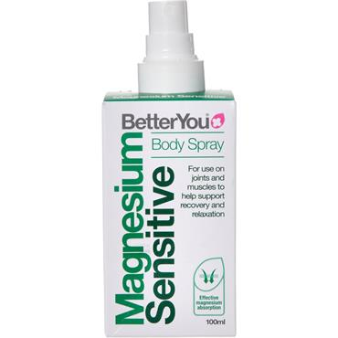 BetterYou Magnesium Oil - Pure Mineral Spray - Sensitive - 100ml