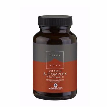 TerraNova Vitamin B Complex 50 Veg caps