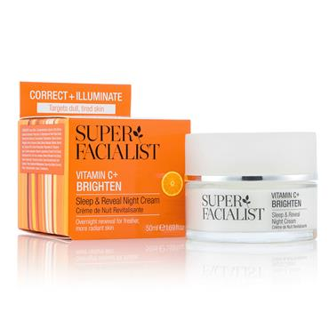 Super Facialist VITAMIN C SLEEP AND REVEAL NIGHT CREAM 50ml