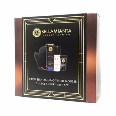 Bellamianta Rapid Tanning Mousse Gift Set