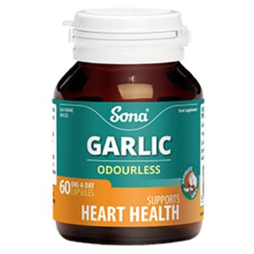 Sona Garlic Odourless 60 Caps