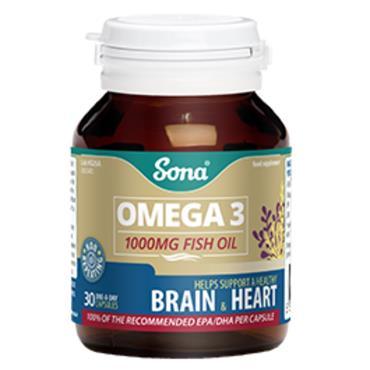 Sona Omega3 1000mg 30 Caps