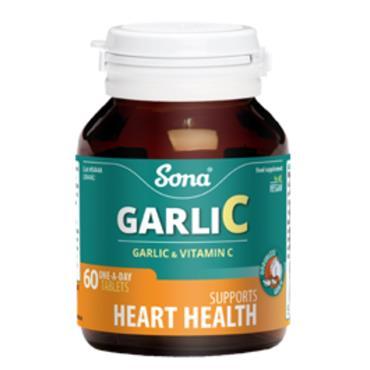Sona GarliC Garlic & VitC 60 tabs
