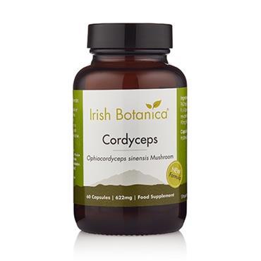 Irish Botanica Cordyceps Mushroom - 60 Caps