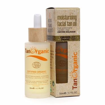 TANORGANIC Moisturising Facial Tan Oil - 50ml