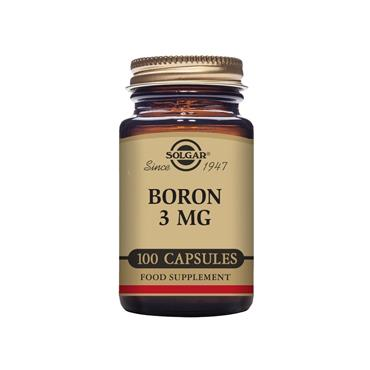 Solgar Boron 3 mg Vegetable Capsules - Pack of 100
