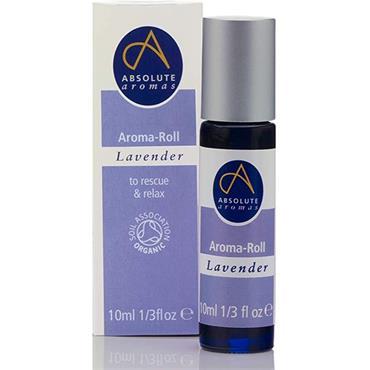 Absolute Aromas Organic Lavender Aroma-Roll 10ml