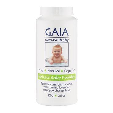Gaia Talc Free Natural Baby Powder