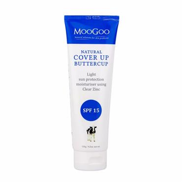 Cover Up Buttercup SPF 15 Natural Moisturiser 200g
